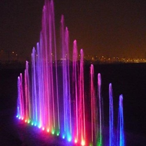 vertical jet fountain nozzles